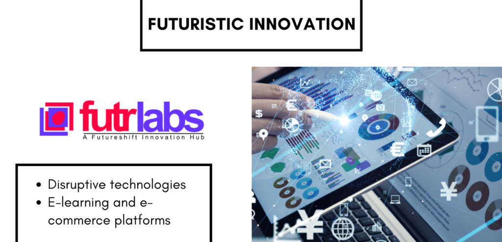 Futrlabs is a well-conceptualised innovation hub where we build intellectual property with disruptive technologies to positively impact outcomes for our clients in enterprise, SME, education and social sectors.